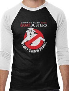 I AIN'T AFRAID OF NO GOATS T-SHIRT - CHICAGO CUBS 2016 Men's Baseball ¾ T-Shirt