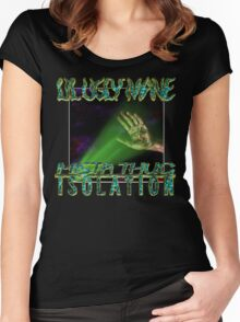 LIL UGLY MANE - MISTA THUG ISOLATION VINYL Women's Fitted Scoop T-Shirt