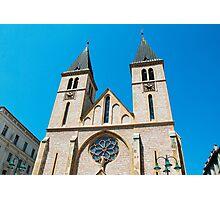 Sarajevo Cathedral   Photographic Print