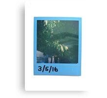 Polaroid Print Canvas Print