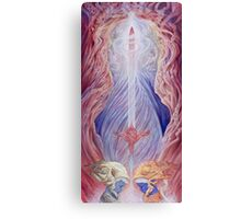 The Sword of Captivation Canvas Print