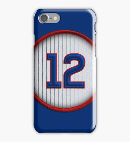12 - Schwarbs iPhone Case/Skin