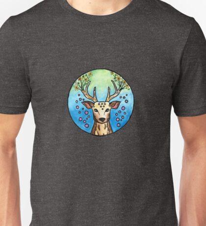Flower Deer  Unisex T-Shirt