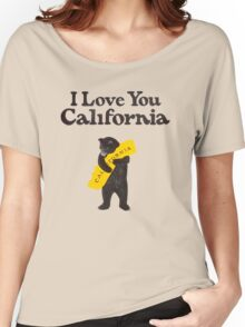 I Love You California Women's Relaxed Fit T-Shirt