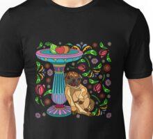 Sleepy Pug Unisex T-Shirt