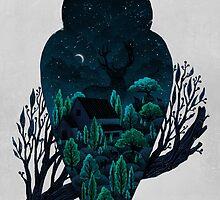 Owlscape by Fil Gouvea