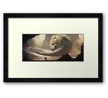 The Ancient One Framed Print