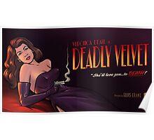 Deadly Velvet - Archer Poster