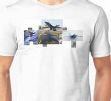 Blue Angels Montage #1 Unisex T-Shirt
