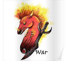 Four Horsemen War  Poster