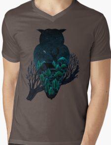 Owlscape Mens V-Neck T-Shirt
