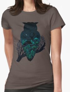 Owlscape Womens Fitted T-Shirt