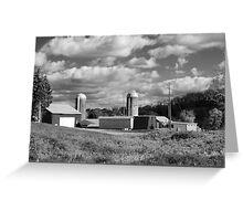 Agricultural Horizon Greeting Card