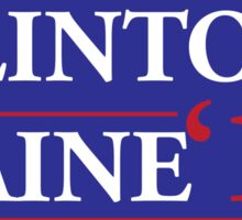 Clinton/Kaine 2016 Sticker