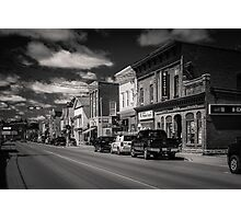 Small Town - Canadiana Photographic Print