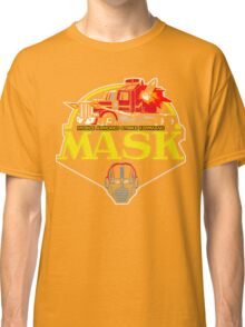 MASK Mobile Armored Strike Kommand Retro 80's Cartoon Classic T-Shirt