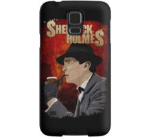 Sherlock Holmes Jeremy Brett T-Shirt Samsung Galaxy Case/Skin