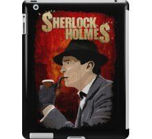 Sherlock Holmes Jeremy Brett T-Shirt iPad Case/Skin