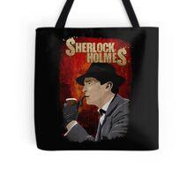 Sherlock Holmes Jeremy Brett T-Shirt Tote Bag