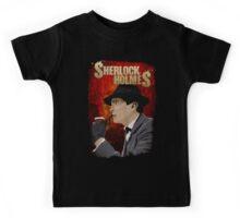 Sherlock Holmes Jeremy Brett T-Shirt Kids Tee