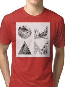 Of Monsters and Men - Beneath the Skin Album Cover Artwork Tri-blend T-Shirt