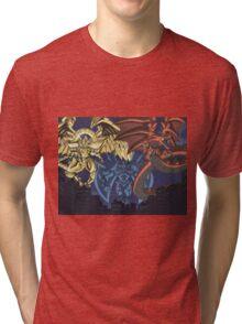 yugioh  egyptian gods Tri-blend T-Shirt