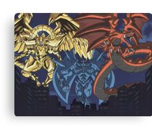 yugioh  egyptian gods Canvas Print