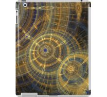 Steampunk clock machine iPad Case/Skin
