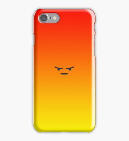 Angry React iPhone Case/Skin