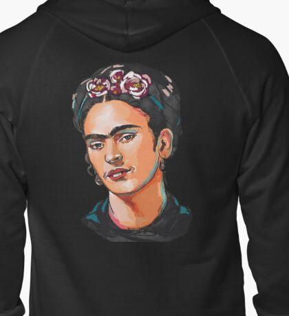 Frida Kahlo Zipped Hoodie