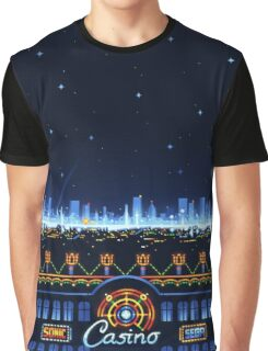 Casino Night Zone Graphic T-Shirt