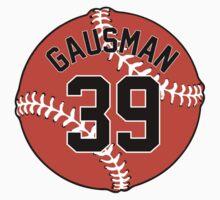 Kevin Gausman Baseball Design by canossagraphics