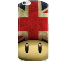 Union jack Mario's mushroom iPhone Case/Skin