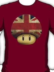 Union jack Mario's mushroom T-Shirt