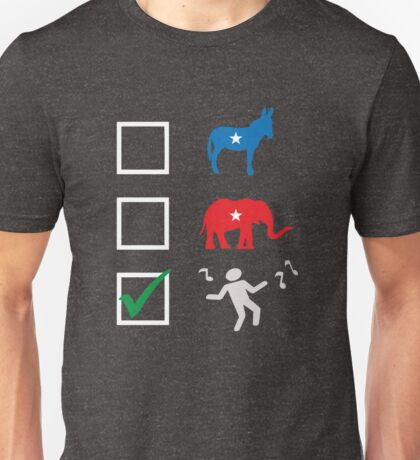 Vote Dance Party political election T-shirt Unisex T-Shirt