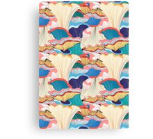 pattern with mushrooms  Canvas Print