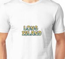 Long Island Watercolor Unisex T-Shirt