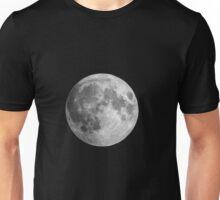 Full moon lunar space image Unisex T-Shirt