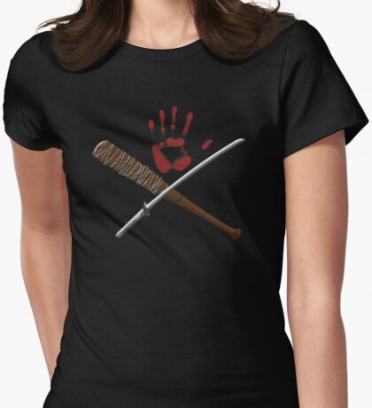 TWD Blood Wars Womens Fitted T-Shirt