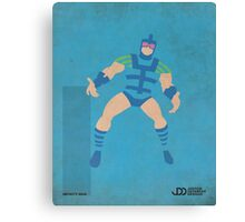 Infinity Man - Superhero Minimalist Alphabet Print Art Canvas Print