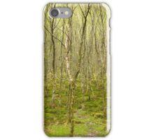Aquarel forest iPhone Case/Skin