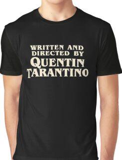 Quentin Tarantino Graphic T-Shirt