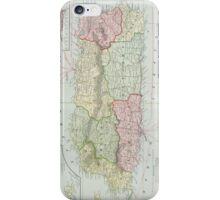 Vintage Map of Puerto Rico (1901) iPhone Case/Skin