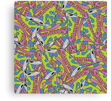 Slurm Can Pattern Canvas Print