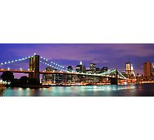 NYC Night Photographic Print
