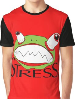 Stress - cartoon Graphic T-Shirt
