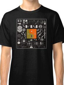 Bon Iver - 22, A Million Album Artwork Cover Classic T-Shirt