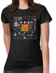 Bon Iver - 22, A Million Album Artwork Cover Womens Fitted T-Shirt