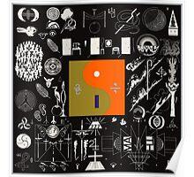 Bon Iver - 22, A Million Album Artwork Cover Poster