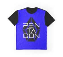 Pentagon Kpop Logo Graphic T-Shirt